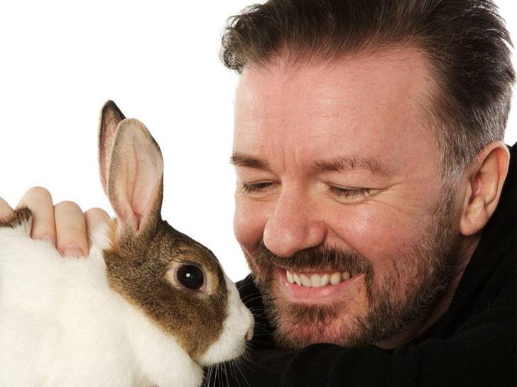 Happy birthday @rickygervais . Thank you for being a hero for animals. https://t.co/JbEnPSYpwu