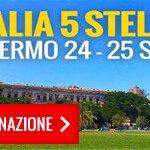 #Italia5Stelle 2016: 24 - 25 settembre a Palermo! Segnatevi la data! https://t.co/Q1QptgSTpb https://t.co/7147l2Kwvw