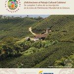 ¿Sabías que el Paisaje Cultural Cafetero cumple hoy 5 años de inscripción en Lista de Patrimonio Mundial de @UNESCO? https://t.co/z1v8Ydpzkx