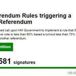 Petition calling for a second EU Referendum tops one million signatures #EUref https://t.co/LzWgON713i https://t.co/AUFuJMTz2Q
