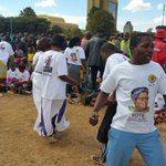 More sights from @ZimPeopleFirst star rally at the #CivicCentre #263Chat https://t.co/ZlsgOpmmqz