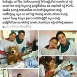 Aldub/maichard visited their kid supporter!!! Maine & Alden you have a good heart! -ctto- #ALDUBKSReunion https://t.co/ygQvoFT5JG