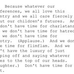 Charlatans and flimflam. From @POTUS remarks at WA fundraiser overnight https://t.co/qCrdPFCMoN