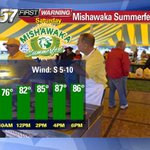 .@EKinzer_ABC57 is live from the Mishawaka Summerfest that just kicked off on this sunny SAT. Tune in right now! https://t.co/Jwa4ptVpvB