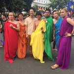 PRIDE MANILA HAS STARTED TODAY AND ITS BEEN ALL ABOUT LOVE, FORGIVENESS, AND PRIDE #Pride2016 🌈💛💙❤️ https://t.co/Yklq87wI1p