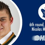 Congrats to @GoLondonKnights d-man Nicolas Mattinen, taken 179th overall by the @MapleLeafs in the 2016 #NHLDraft! https://t.co/cwnOTAg6wq