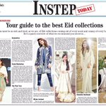 Instep declares Muslin Memoirs, our Eid Collection, saliently featuring dhaka pajama, as one of the best 5 this Eid https://t.co/JQXd9ZNZDd