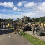 De tocht aansluitend veteranenavond Zoetermeer gaan beginnen. Enorm veel waardering en respect voor onze veteranen. https://t.co/jdYrIDNoqC
