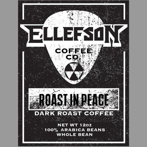 メガデスのデヴィッド・エレフソンがコーヒー出してる。その名も[Roast In Peace]。 https://t.co/2JYlQl4yJL https://t.co/QJIrQ2pZHH