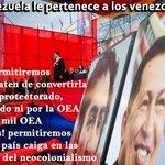 ¡QUÉ LO SEPAN UNA VEZ MÁS!... @NicolasMaduro Jamás Venezuela será un país tutorado o monitoreado por NADIE https://t.co/4MrrUkhBiX