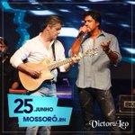Hoje tem Victor & Leo no Mossoró Cidade Junina! Quem vai? 🙋🎵🔥 #Show #Mossoró #VictorELeo #TurnêIrmãos https://t.co/UXJCYh6tFv