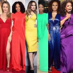 Happy #PRIDE everyone! ❤️???????????????? #pride2016???? ???????????? love all these ladies in colorful Siriano looks! https://t.co/kmt1b8HC2t