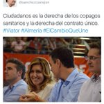 """Dice el PSOE que Cs es la misma derecha que PP. Luego pacta con Rivera y lo llama """"cambio"""" #JornadaDeReflexión #26J https://t.co/mivbdClIUU"""