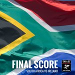 Well done to our @Springboks for beating Ireland 19-13 and clinching the series! #loverugby https://t.co/6MlQUQ4EjO