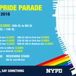 RT @NYPD110Pct: Street closures for the big parade tomorrow. https://t.co/iw1LRJYyv1