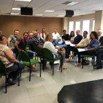 Última reunión @popularesgc antes #26J , repasando jornada electoral, el mejor equipo!GRACIAS!!!#JornadaDeReflexión https://t.co/bImx9j87Zq
