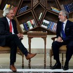 CE Dr. Abdullah met Nicholas Haysom UNSGs Special Representative to Afghanistan 4 farewell & thanked him 4 his work https://t.co/CkT56bnbnj