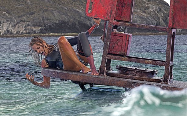 It's Blake Lively vs. a shark in TheShallows. Our review: