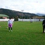 #PretemporadaRojiNegra: A esta hora en el Cacique Tundama, @Cucutaoficial cumple su último entrenamiento en Duitama. https://t.co/Gx2QREicSI