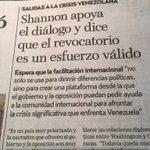 CORTOCIRCUITO ROJO:Con besos&sonrisas para EEUU en Miraflores y con insultos&circo malo en la OEA.Shannon:SI al RR https://t.co/kX7tAVDSAc