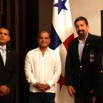 """Vp @oscarortizsv llega a Panamá para participar en """"Ceremonia de Inauguración del Canal Panamá Ampliado"""". #GobSV https://t.co/eUBlscxZCm"""