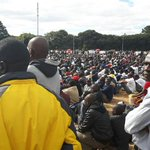 Numbers discussions with colleagues, seems to be agreement that attendance @ZimPeopleFirst rally was no more than 3K https://t.co/GzRtO3OFoU