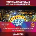 Hoje tem Mossoró na tela da Rede Globo! Nosso MCJ é destaque no São João do Nordeste. #mcj2016 https://t.co/y1tBHJgxVP