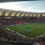 20 minutes to kick off. Springboks vs Ireland. Port Elizabeth. #AllOutRugby @vodacomrugga https://t.co/AdN0Ma9Hvu