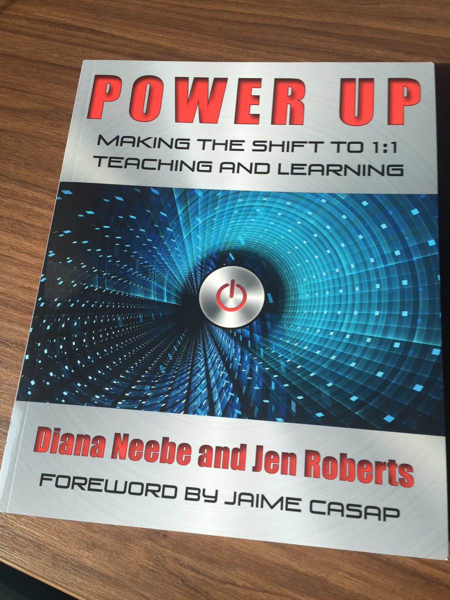 .@dneebe & I are celebrating the 1st anniversary of #PowerUpEd. Retweet this before 6/30 and you could win a copy! https://t.co/eCvnh9dEGV