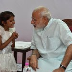 Priceless moments with young Vaishali. https://t.co/FptUr7ecSa https://t.co/tL3lbVTKTV