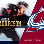 Congrats to incoming forward Cameron Morrison, who was selected 40th overall by Colorado in the #NHLDraft!  #GoIrish https://t.co/crQPpjh2q0
