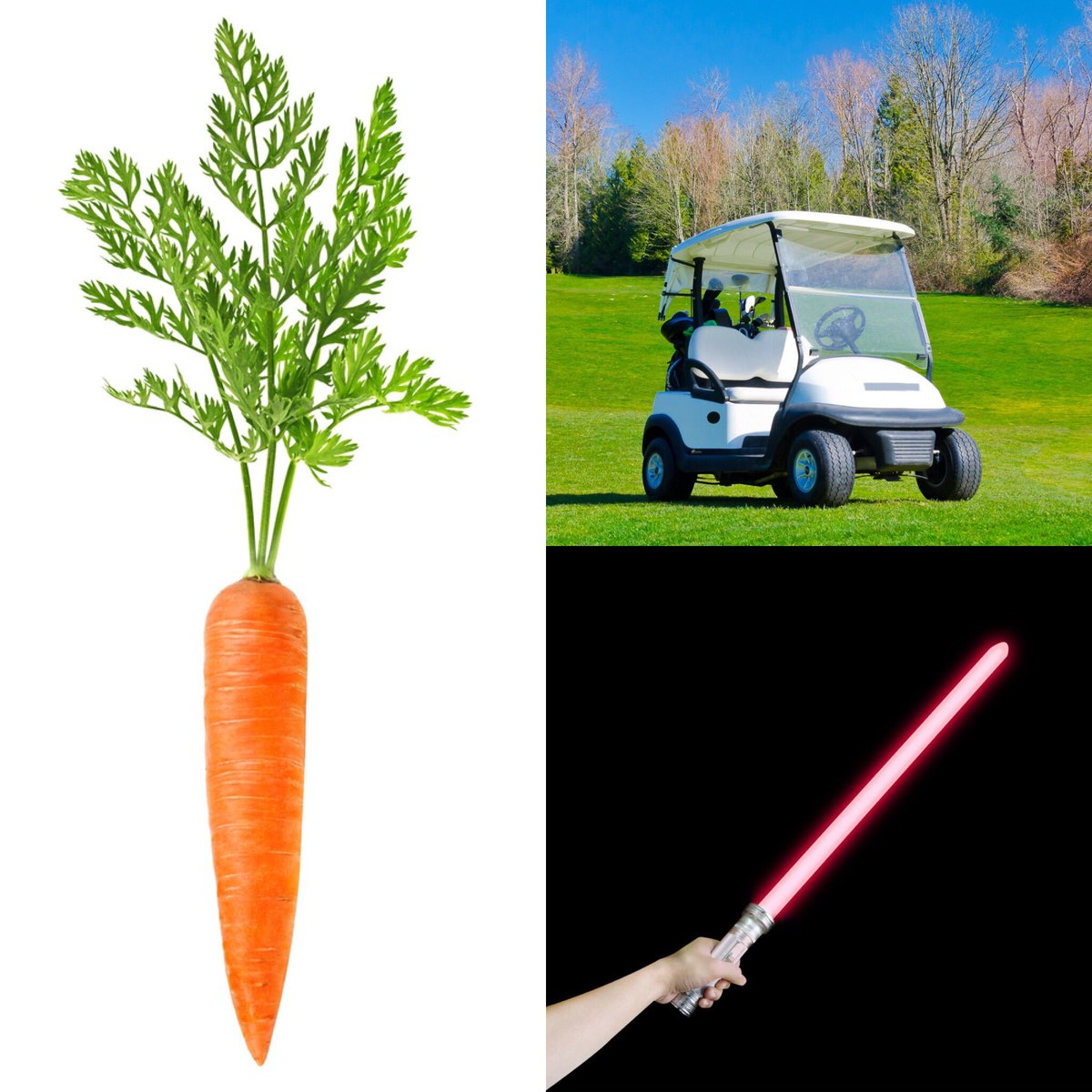 What does a carrot, light saber & a golf cart have in common? I'm talking about it this wknd • #potentialchurch https://t.co/CwG4nKA79q