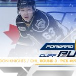 With the 69th pick the Sabres select @cliffp_28 from @GoLondonKnights. https://t.co/xGt68mwRyY