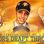Seven years ago today, the Warriors selected @StephenCurry30 with the 7th pick in the 2009 #NBADraft. #GSWHistory https://t.co/V4kziHbVps