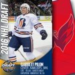 With the 87th pick in 2016 #NHLDraft, #Caps select Garrett Pilon. RT to welcome Garrett to Washington! #CapsDraft https://t.co/4jrBSE3e81