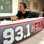 Last years 3rd place finisher @BriarBauman14 on @BillyElviss show on @931TheFan! #LimaHM https://t.co/Jt0njK8dEh