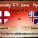 Tomorrow night! COME ON ENGLAND! #TogetherForEngland #sheffieldissuper #Walkabout #Sheffield #EURO2016 https://t.co/UYMM22HmzX