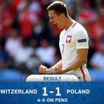 Thats it! #POL progress to the #EURO2016 quarter-finals. https://t.co/amYP9Tg1xe