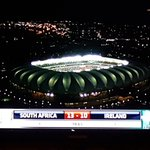 Going to be a thrilling 2nd half #SSRugby #SAvsIRE...Oh and what an awesome stadium! https://t.co/gfRScsCzQD