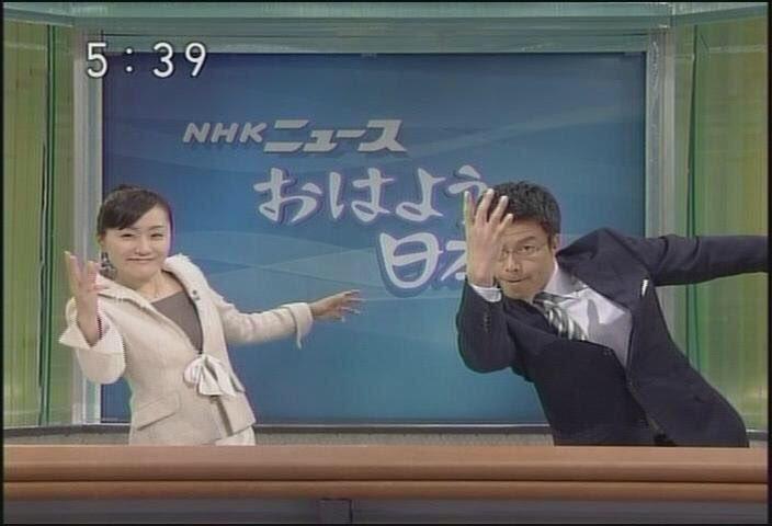 私がいろんなキャラでみたいトレス素材第1位は、NHKニュースおはよう日本です。