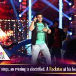 As @ThisIsDSP Sings and the Eve is Electrified!!! #CinemaaAwards2016 @MAATV #IndiaglitzTelugu #Indiaglitz https://t.co/AAkZKq6lzU