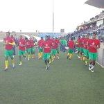 @BafanaBafana and Botswana warming up ahead of the now 17h30 kick-off of the COSAFA Cup final @madamenamhla https://t.co/JGvnInuTuY