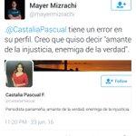 .@AlvaroAlvaradoC Que me dice de este ataque a la reconocida periodista y colega @CastaliaPascual #Imparcialidad https://t.co/lSEEEF3ILd