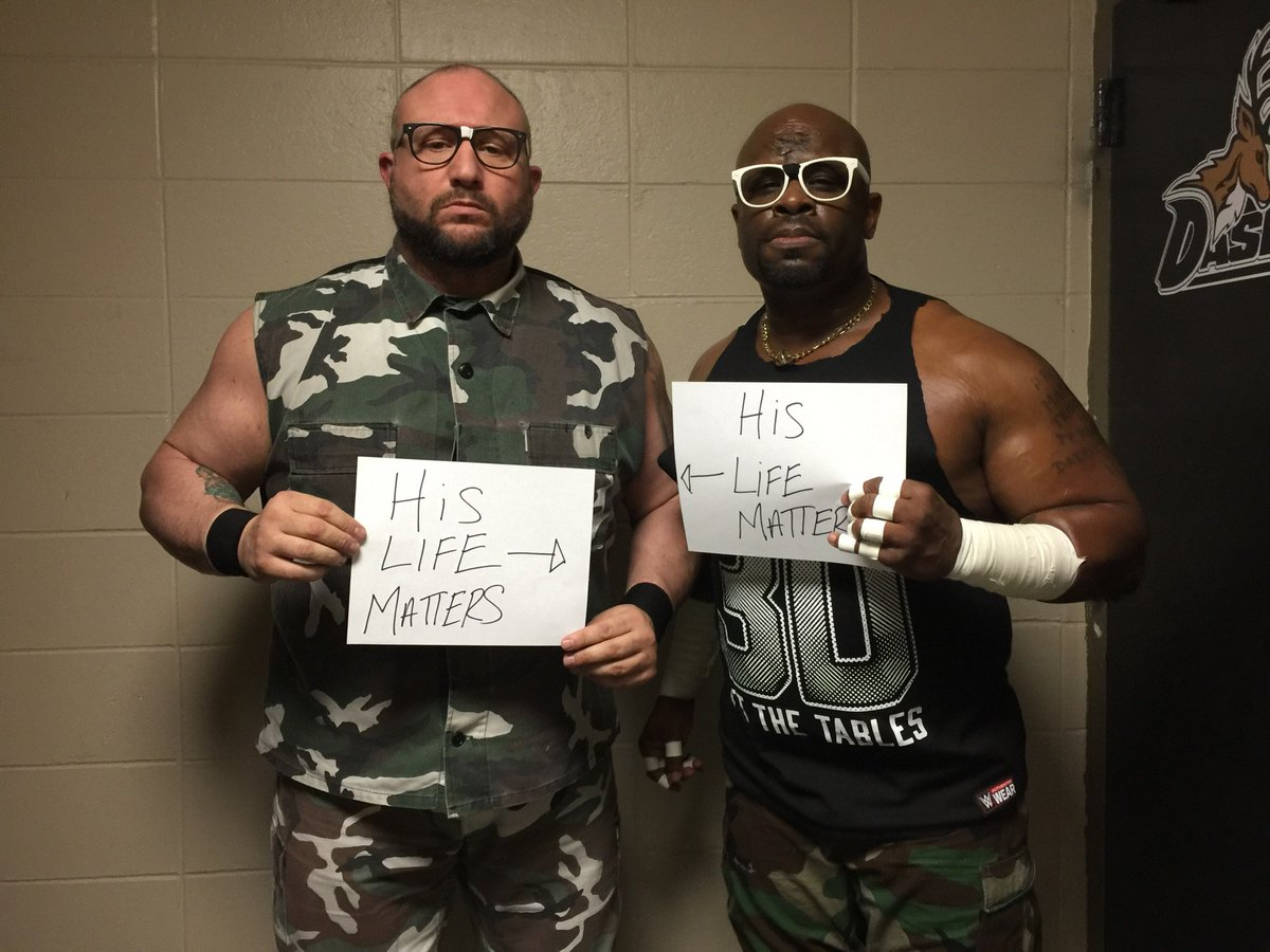 We are all brothers and sisters. #hislifematters @WWE @WWEUniverse https://t.co/VKhsPFv4iW