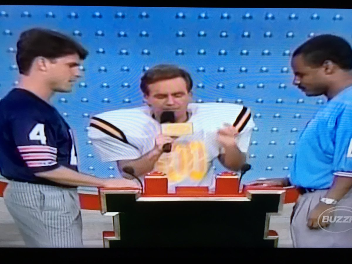 Just stumbled across Family Feud with @CoachJim4UM. Khakis came later apparently. https://t.co/uENsY8SwlT