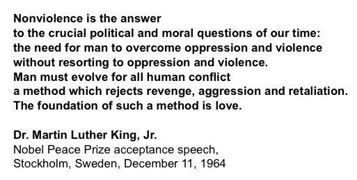 Having trouble sleeping. Found this.  #MLK #nonviolence #Dallas https://t.co/qiyQ3owsVH