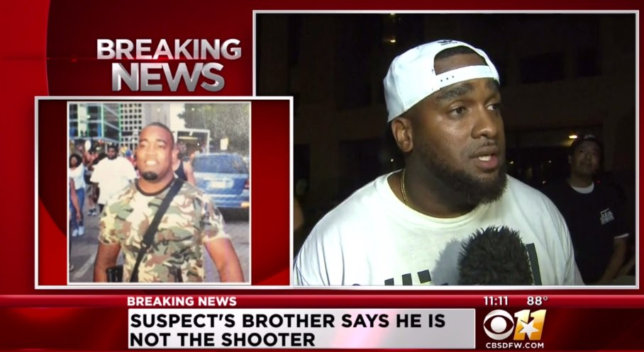 #BREAKING: Suspect's brother tells CBS News he is not the shooter.  https://t.co/mYLVKXHUNv https://t.co/n7h82Gl25i