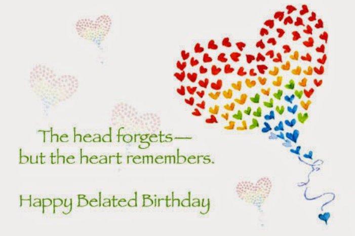 Поздравление с прошедшим днем рождения на английском