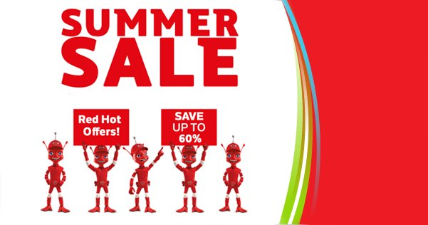 We have that #FridayFeeling in DID Electrical today as our summer sale kicks off! Up to 60% off! #summersale https://t.co/rvodj3DYEA