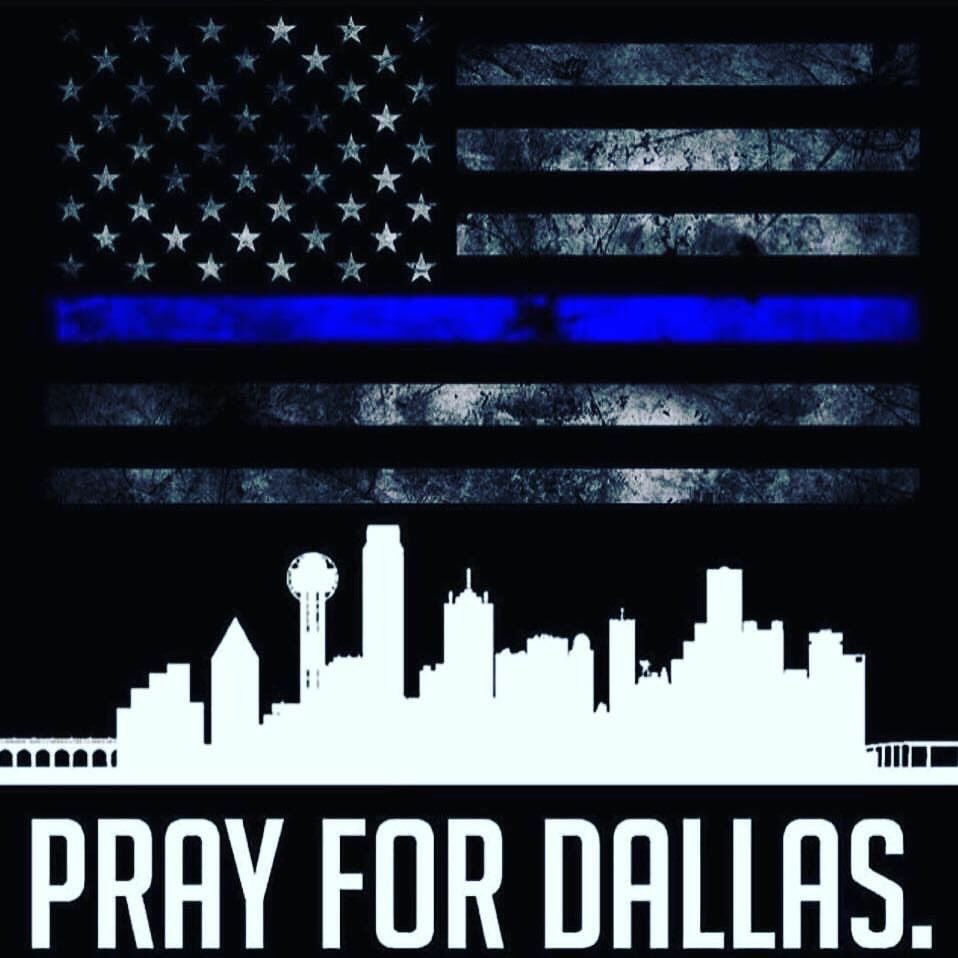 We are heartbroken for @DallasPD, the fallen officers, their loved ones and our entire city. #PrayForDallas https://t.co/DOGQdxBM7A